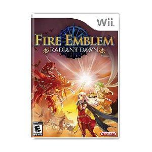 Jogo Fire Emblem: Radiant Dawn - Wii