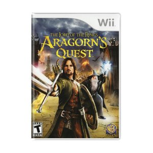 Jogo The Lord of the Rings: Aragorn's Quest - Wii