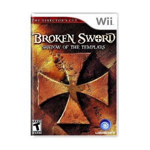 Jogo Broken Sword: Shadow of the Templars (The Director's Cut) - Wii