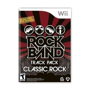 Jogo Rock Band: Classic Rock Track Pack - Wii