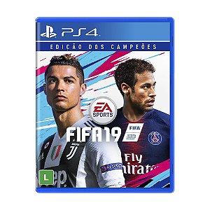 Jogo FIFA 19 (Edição dos Campeões) - PS4