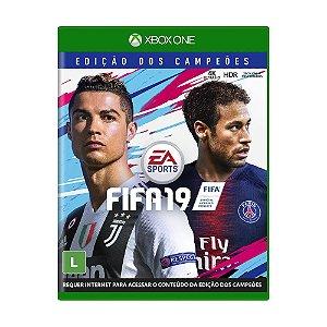 Jogo FIFA 19 (Edição dos Campeões) - Xbox One