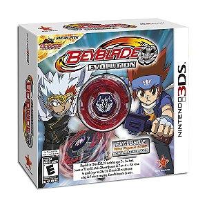 Jogo Beyblade Evolution (Collectors Edition) - 3DS