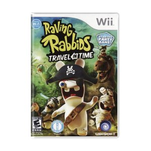Jogo Raving Rabbids: Travel in Time - Wii