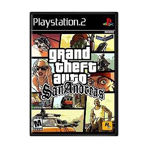 Jogo Grand Theft Auto: San Andreas - PS2