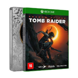 Jogo Shadow of the Tomb Raider (Steelbook Edition) - Xbox One