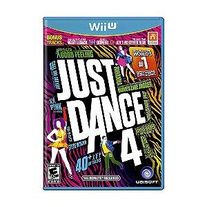 Jogo Just Dance 4 - Wii U