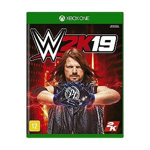 Jogo WWE 2K19 - Xbox One