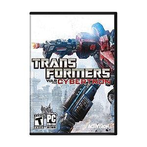 Jogo Transformers: War for Cybertron - PC