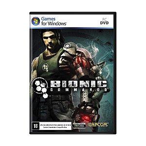 Jogo Bionic Commando - PC