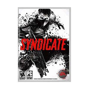 Jogo Syndicate - PC