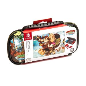 Case Protetora Deluxe para Viagem RDS Industries (Donkey Kong Country: Tropical Freeze) - Switch