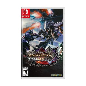 Jogo Monster Hunter Generations Ultimate - Switch