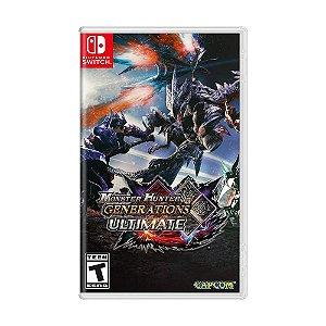 Jogo Monster Hunter Generations Ultimate - Switch