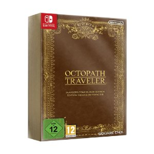 Jogo Octopath Traveler (Traveler's Compendium Edition) - Switch