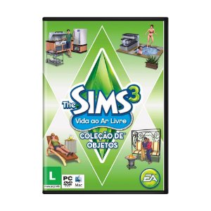 Jogo The Sims 3: Vida ao Ar Livre (Pacote de Expansão) - PC