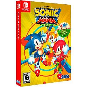 Jogo Sonic Mania (Plus) - Switch