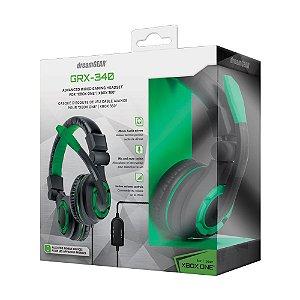 Headset dreamGEAR GRX-340 Preto e Verde com Fio - Xbox One