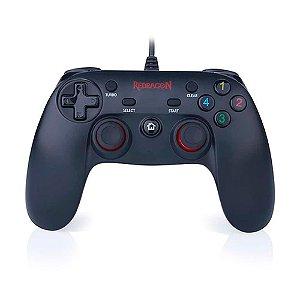 Controle Gamer Redragon Saturn G807 USB com fio - PC e PS3