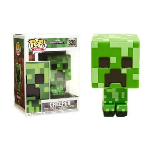 Boneco Creeper 320 Minecraft - Funko Pop