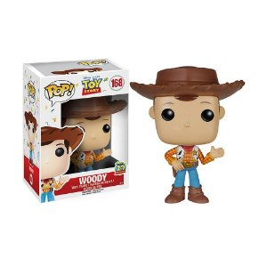 Boneco Woody 168 Toy Story - Funko Pop
