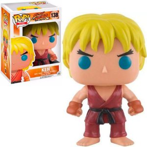Boneco Ken 138 Street Fighter - Funko Pop!