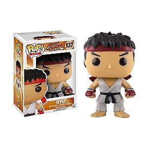 Boneco Ryu 137 Street Fighter - Funko Pop