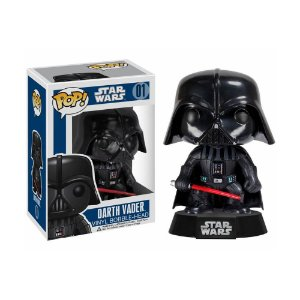 Boneco Darth Vader 01 Star Wars - Funko Pop