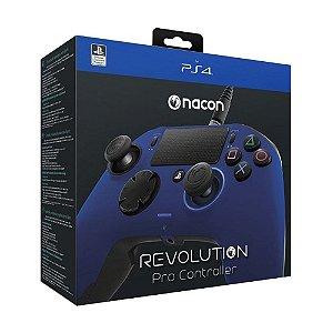 Controle NACON Revolution PRO Azul - PS4 e PC