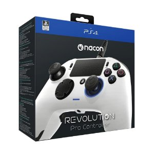 Controle NACON Revolution PRO Branco - PS4 e PC