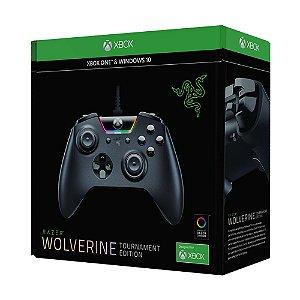Controle Razer Wolverine Tournament Edition Preto com fio - Xbox One e PC