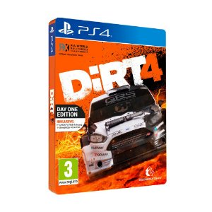 Jogo DiRT 4 (Day One Edition) - PS4