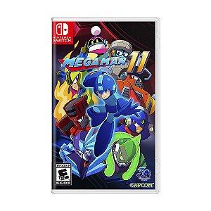 Jogo Mega Man 11 - Switch