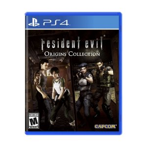 Jogo Resident Evil Origins Collection - PS4