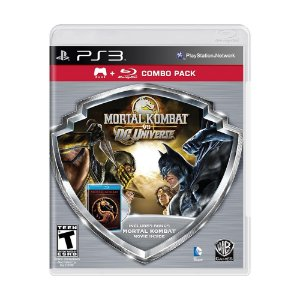 Jogo Mortal Kombat vs DC Universe (Combo Pack) - PS3