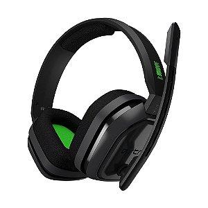Headset Gamer Astro A10 Preto e Verde com fio - Multiplataforma