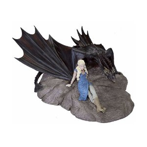 Action Figure Daenerys e Drogon (Statuette) Game of Thrones - Dark Horse