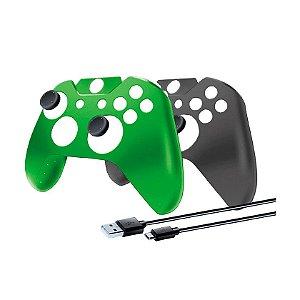 Capas Protetoras DreamGEAR para Controle + Cabo Carregador - Xbox One
