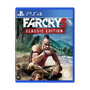 Jogo Far Cry 3 (Classic Edition) - PS4