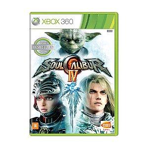 Jogo Soul Calibur IV - Xbox 360