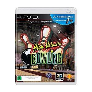 Jogo High Velocity Bowling - PS3