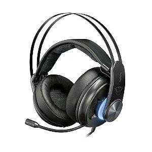 Headset Gamer Trust Dion Bass Vibration 7.1 com fio - Multiplataforma