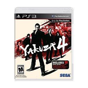 Jogo Yakuza 4 - PS3