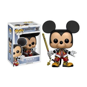 Boneco Mickey Mouse 261 Kingdom Hearts - Funko Pop