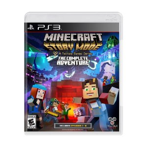 Jogo Minecraft: Story Mode (The Complete Adventure) - PS3