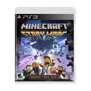 Jogo Minecraft: Story Mode (Season Pass) - PS3
