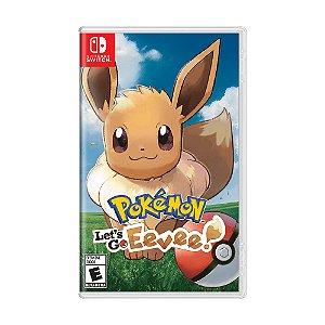 Jogo Pokémon: Let's Go, Eevee! - Switch