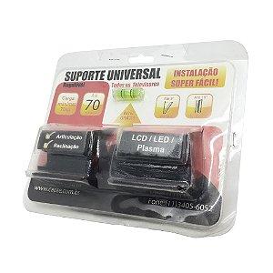 Suporte P/ TV Fixo de Ferro Capte Universal LCD/Led/Plasma 70 Polegadas