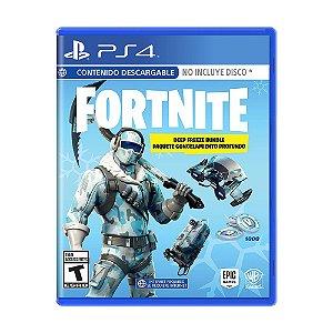 Jogo Fortnite (Deep Freeze Bundle) - PS4