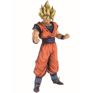 Action Figure Son Goku Super Saiyan (Grandista Manga Dimensions) Dragon Ball Z - Banpresto